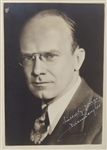 Deems Taylor & Virgil Thomson Signed Photos