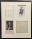Alfred Thayer Mahan Handwritten Letter and AQS about Horatio Nelson