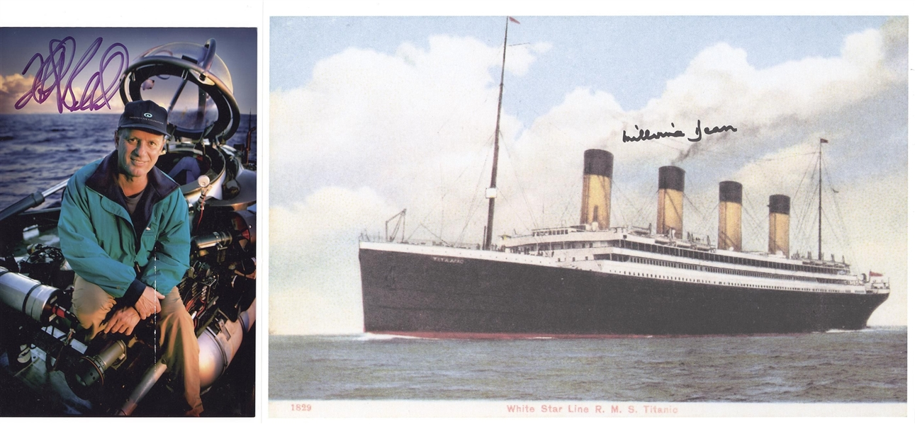 Titanic Collection with Dr Robert Ballard